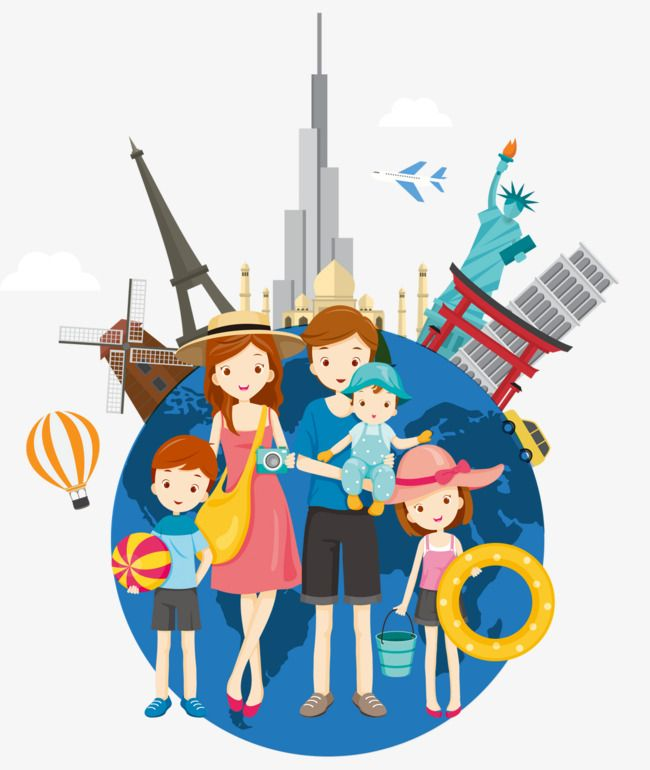 Family Travel Abroad Summer Tourism Travel Agency World Travel Png Transparent Clipart Image And Psd File For Free Download Travel Abroad Family Travel Travel Agency