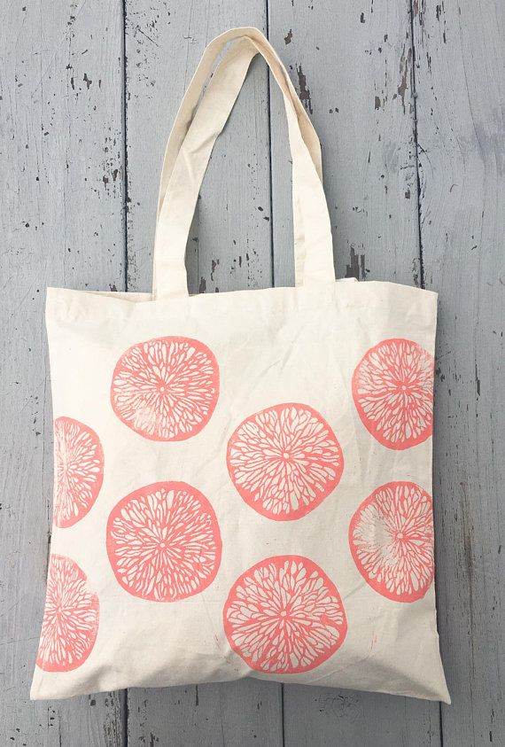 Tote Bag Farmers Market Citrus