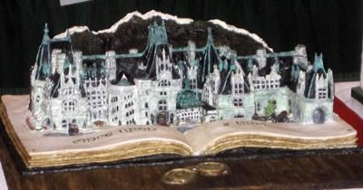 Gingerbread Biltmore House: This was one of the most amazing creations at the 2009 National Gingerbread Competition.  Everyone sitting around us was speculating that it was a model
