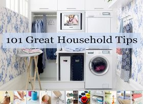 101 Household Tips for Every Room in your Home | Glamumous!
