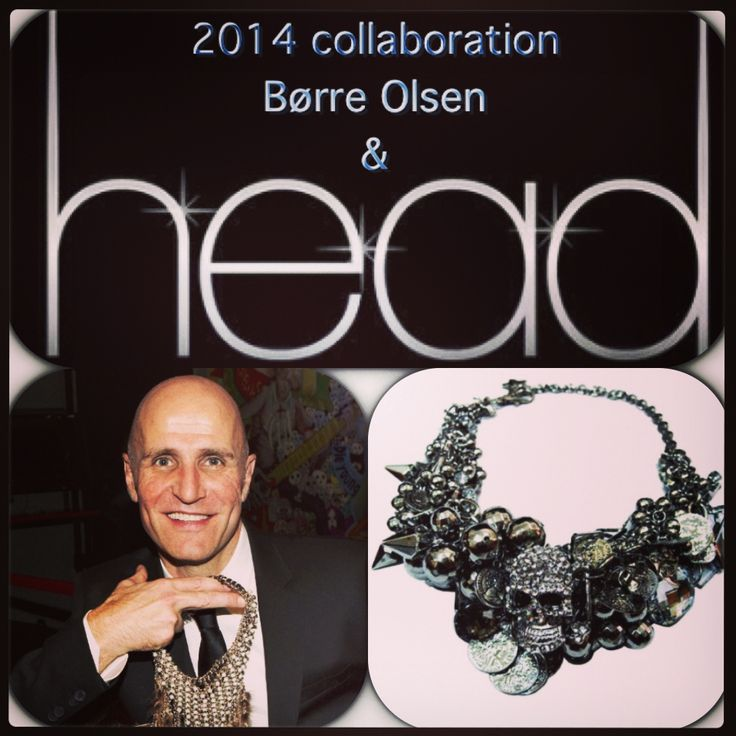 Head i samarbeid med smykke designer Børre Olsen i 2014