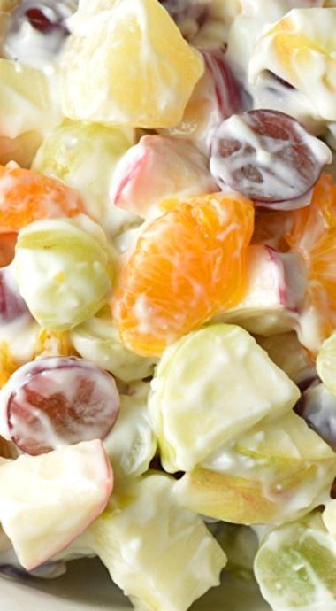 Creamy Delicatessen Fruit Salad                                                                                                                                                                                 More