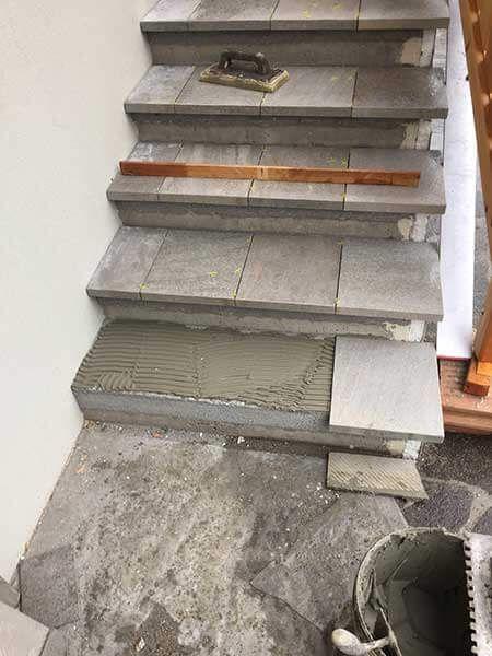 Carreler Un Escalier Prix Et Pose Carrelage Escalier Exterieur Escalier Carrele Escalier Beton