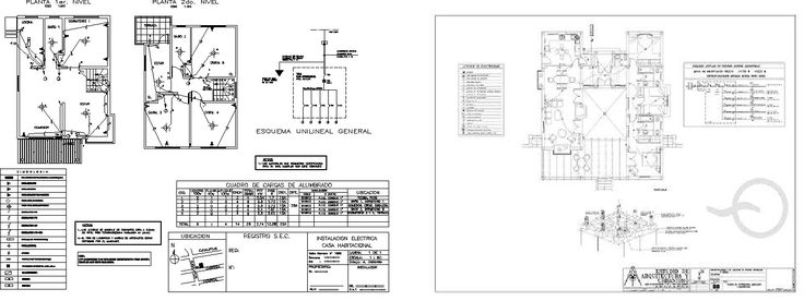 Resultado de imagen para plano de electricidad