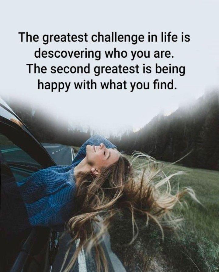 Tradução O Maior Desafio Na Vida é Descobrir Quem Tu és