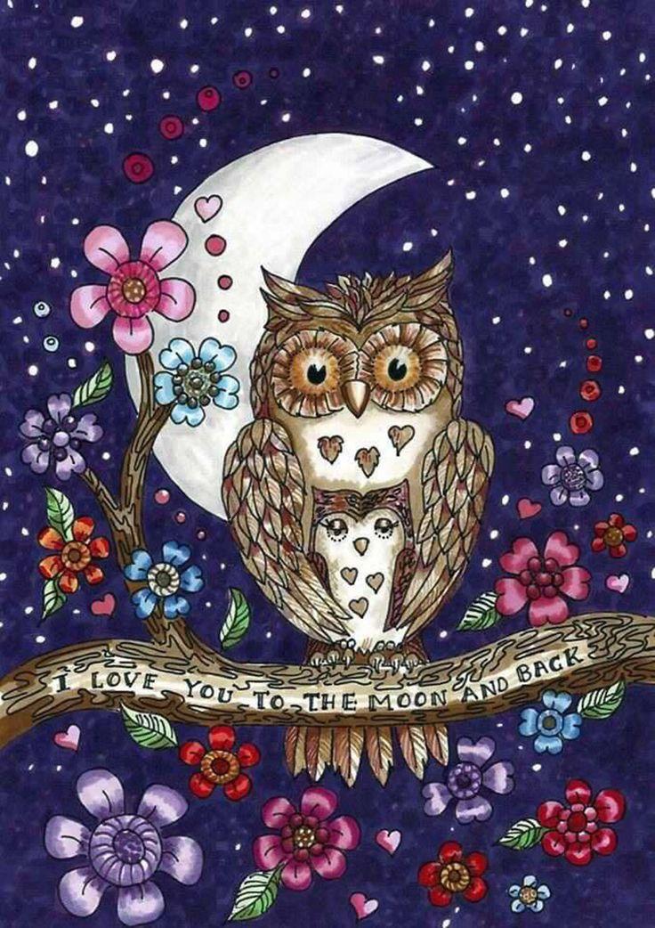 доброй ночи картинки с совой подойдет