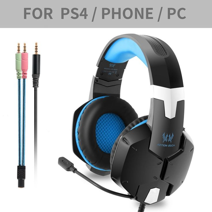 Trend KOTION EACH G Gaming Headset for PS Professional mm PC Stereo Headphones with Mic