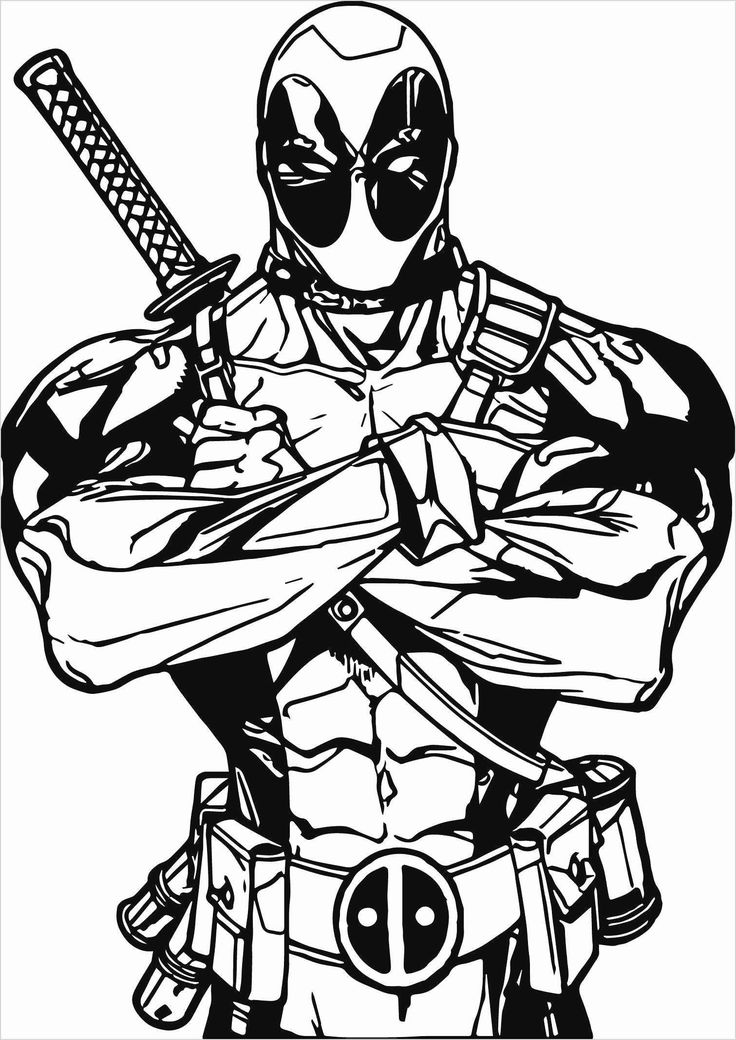 Cartoon Character Coloring Page | Avengers coloring pages ...