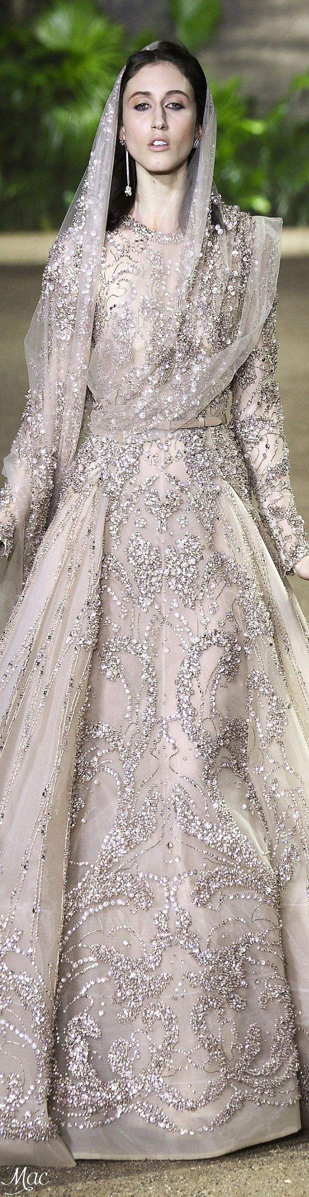 Spring 2016 Haute Couture Elie Saab Clothing, Shoes & Jewelry: http://amzn.to/2iTBsa9