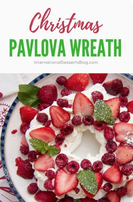 Not only is pavlova super easy to make, it's the perfect summer dessert!