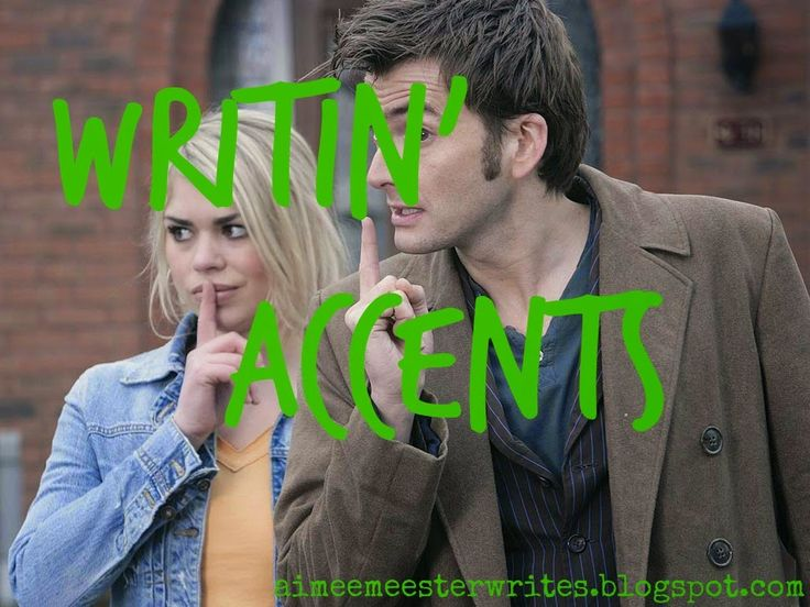 When you think about it everyone has an accent ... it may be regional, ethnic or cultural. Click to learn how to write accents into your dialogue. #writingtips #fictionwriting