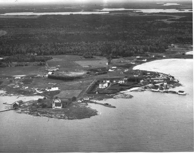 Rossville. Photo taken 1950.