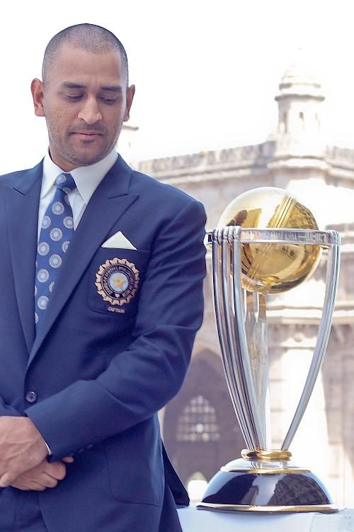 Captain courageous and Cool - MS Dhoni