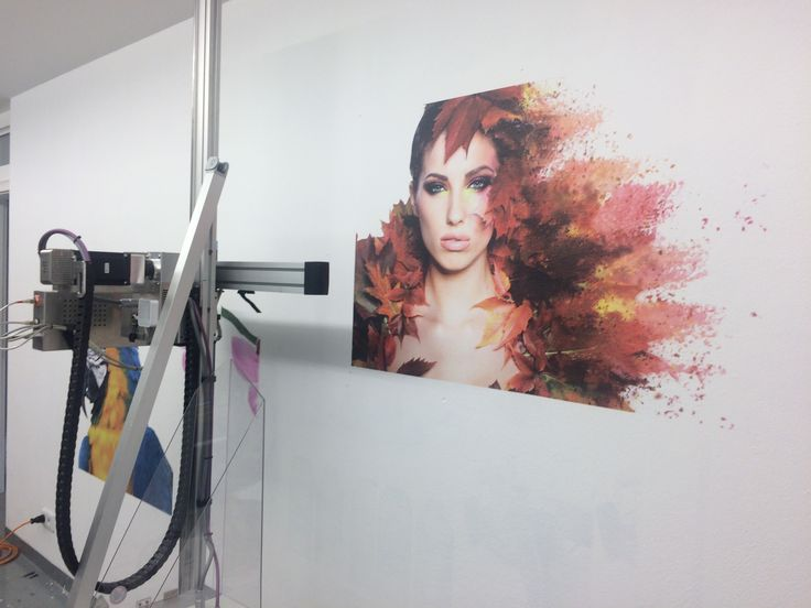This image was printed directly onto a wall using our innovative wall printer. Colours are just amazing! Just imagine limitless opportunities in interior design.