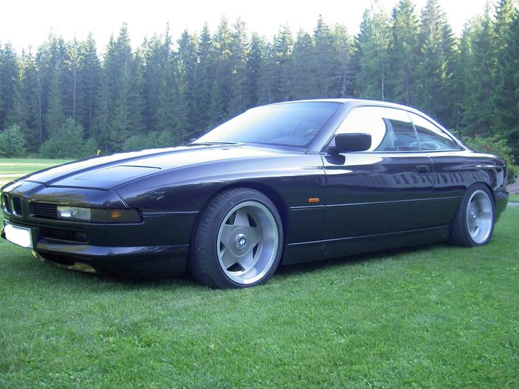 Bmw 850 With Deep Dish Rims Bmw 4ever Pinterest