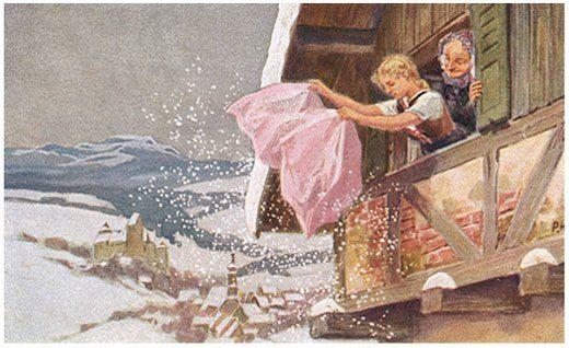 madre nieve ilustracion cuento - Buscar con Google