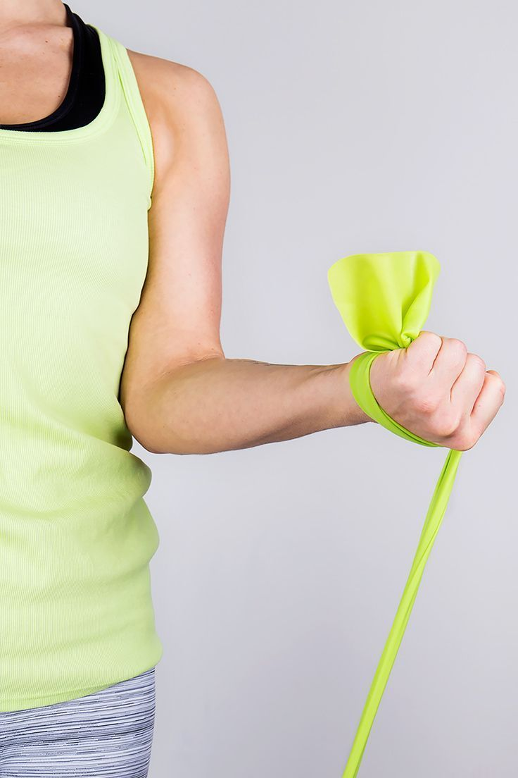 Do These Resistance Band Exercises Anywhere — All you need is a resistance band and you can do this workout anywhere.