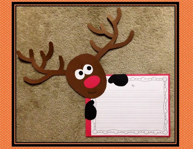 Rockin' reindeer writing prompts and other fun holiday activities!