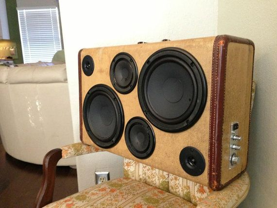 52 best boomcase images on Pinterest | Boombox, Speakers and DIY