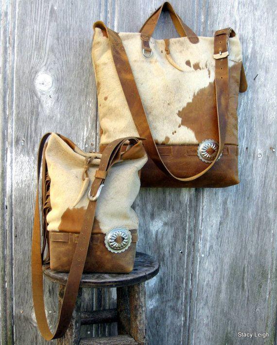 Cross body Cowhide bags