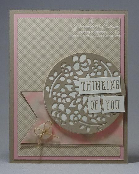 Window Box Thinlits - www.dreamingaboutrubberstamps.com - This way or that? Two cards identical except for the layout, vertical or horizontal. Made with the Window Shopping stamp set and Window Box Thinlits Bundle in neutral colours including the Falling in Love designer series paper.