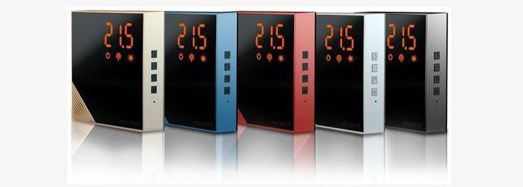 """""""Momit Home Thermostat"""" uno speciale termostato intelligente che promette di ridurre i consumi energetici del 30%, totalmente wireless e per un design curato e moderno"""