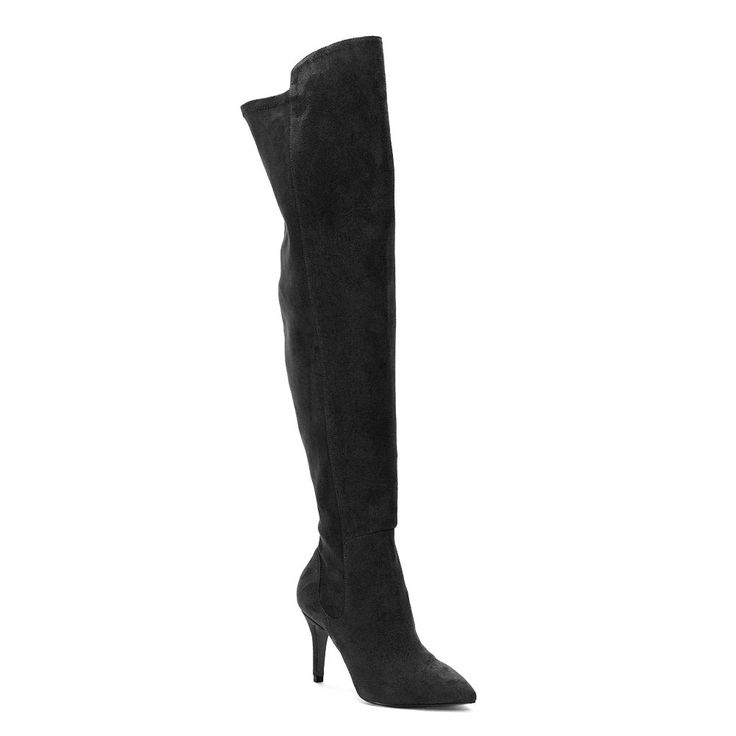 Style Charles by Charles David Vince Women's Over-The-Knee High Heel Boots, Size: medium (8.5), Black