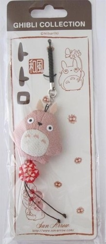 My Neighbor Totoro Pink Flat Phone Strap Anime New | eBay