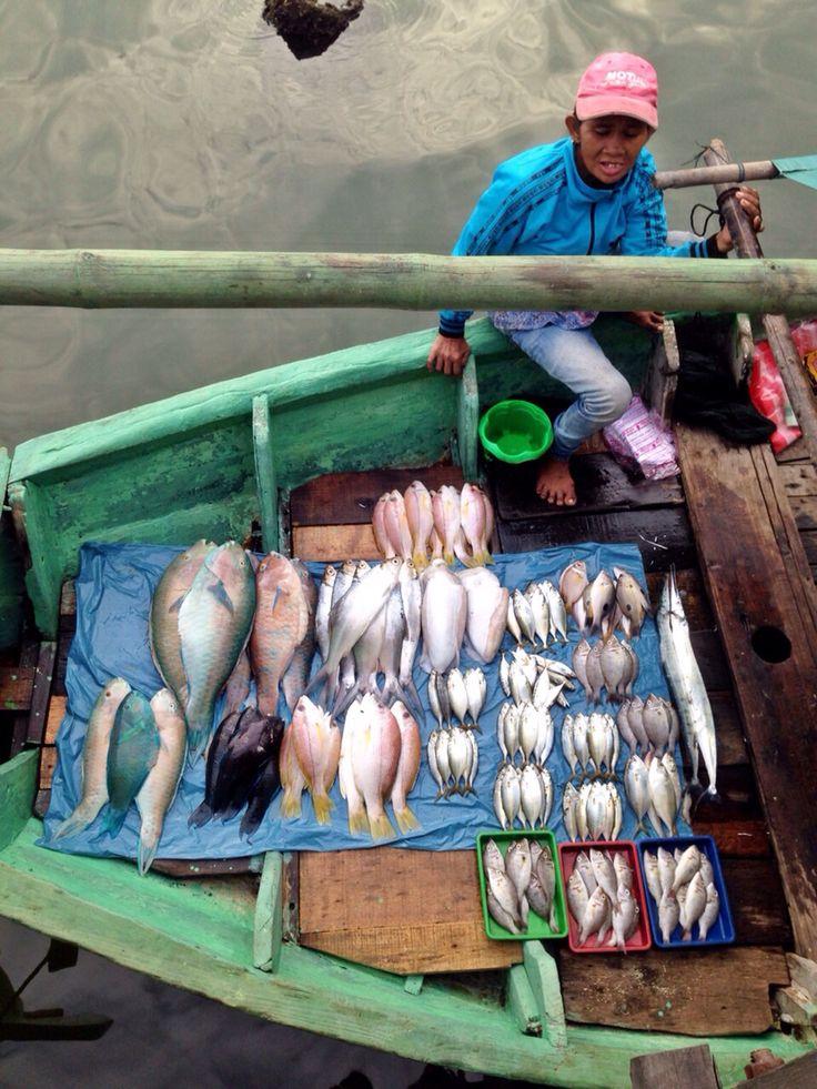 Floating fish market, Ancol, Jakarta