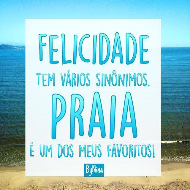 """""""Felicidade tem muitos sinônimos.  Praia do Rosa é um dos meus favoritos!""""  http://www.praiadorosadescansodorei.com.br"""