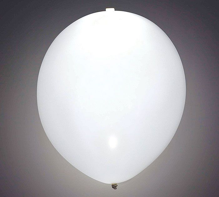 White LED Lite-A-Loon™ Latex Balloons are perfect for those late night wedding send-offs!! #burtonandburton