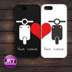 Couple 002 - Phone Case untuk iPhone, Samsung, HTC, LG, Sony, ASUS Brand #couple #phone #case #custom #vespa