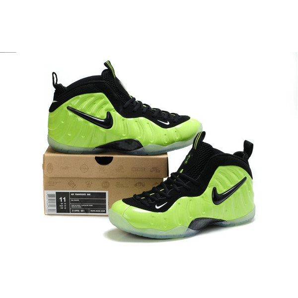 Cheap Foamposite Pro Basketball Shoes Volt Black 314996 001 is one of... via