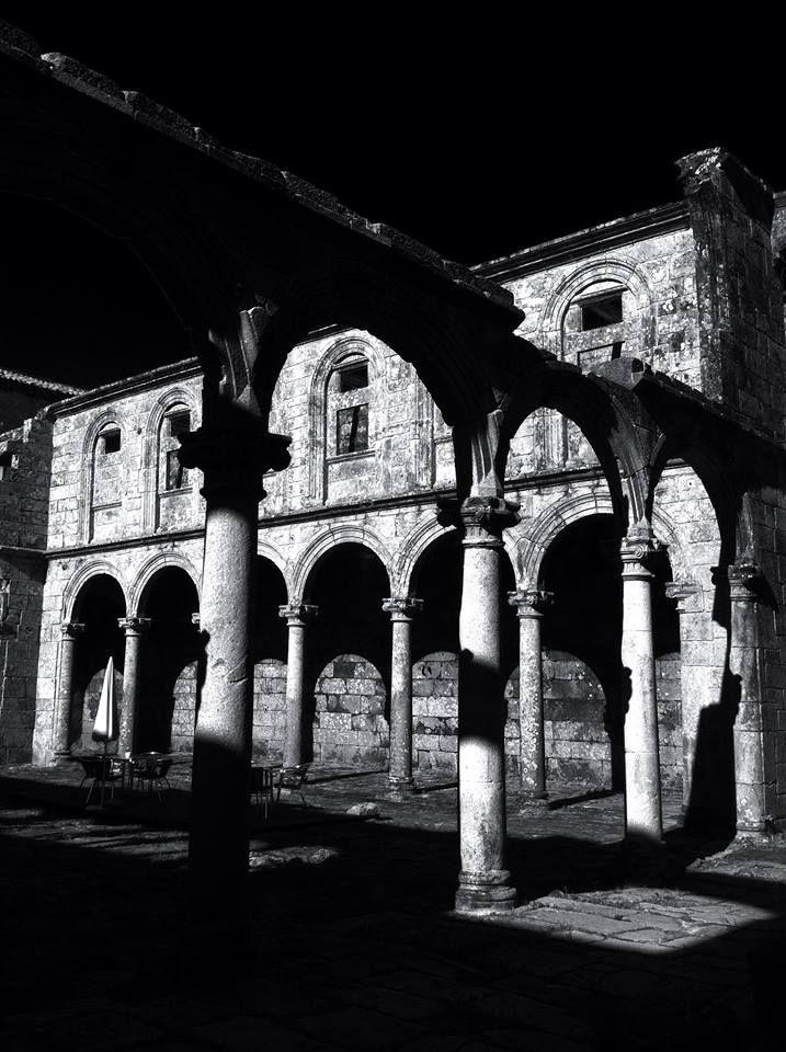 Claustro 1. Mosteiro de Melón #ourense