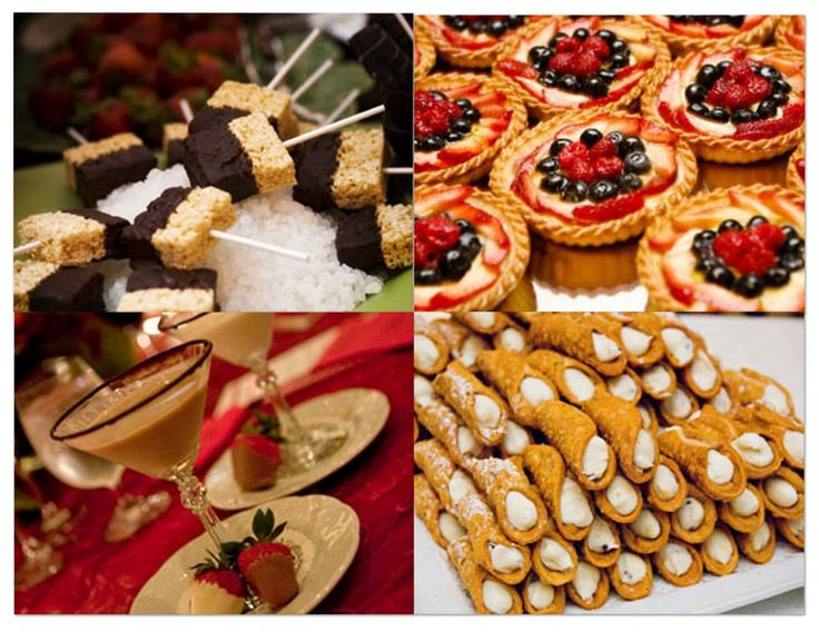 Small Wedding Reception Ideas | ... Wedding: What Should You Serve at a Desserts Only Wedding Reception