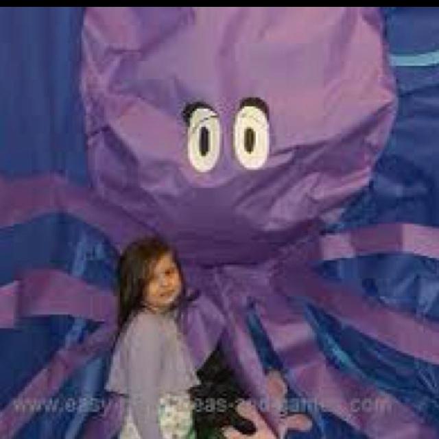 Butcher paper octopus