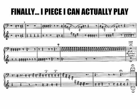 But please. Learn to actually read music. Sheet music. With notes. And not chord charts.