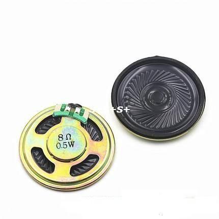 Купить товарSmart Electronics 2 шт./лот 8 ом 0.5 Вт спикер 40 ММ 4 СМ диаметр 8R 0.5 Вт громкоговоритель в категории Интегральные схемына AliExpress. Smart Electronics 2 шт./лот 8 ом 0.5 Вт спикер 40 ММ 4 СМ диаметр 8R 0.5 Вт громкоговоритель