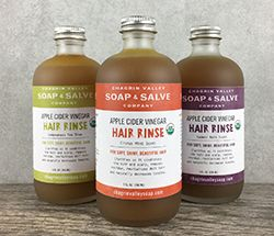 When it comes to low-poo, no-poo or just wanting a nourishing rinse for your hair, apple cider vinegar is where to go. Check out the herbs and vinegar hair rinse section; just want I needed.
