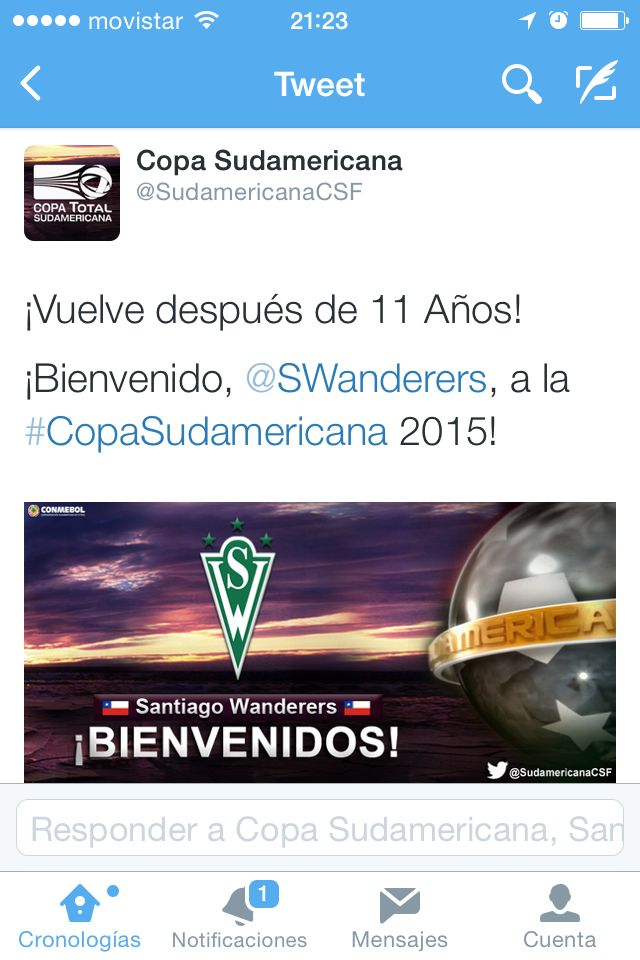 Volvemos a la Sudamericana