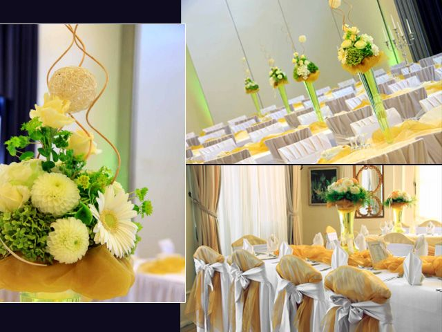 17 best images about reception table decor ideas on for Simple reception decoration