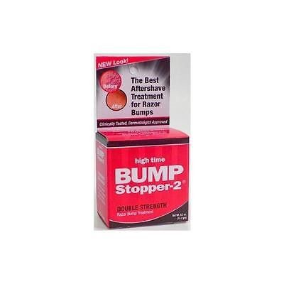 High Time Bump Stopper-2 Double Strength Razor Bump Treatment, 0.5 Oz