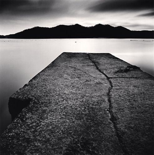 Cracked Pier, Haeui-do, Shinan, South Korea, 2013 by Michael Kenna