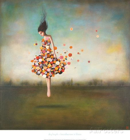 This is so beautiful! Boundlessness in Bloom Poster by Duy Huynh at AllPosters.com
