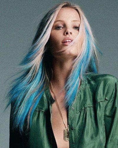 Cobalt Blue Hair Chalk - Hair Chalking Pastels - Temporary Hair Color - Salon Grade - 1 Large Stick. Etsy.