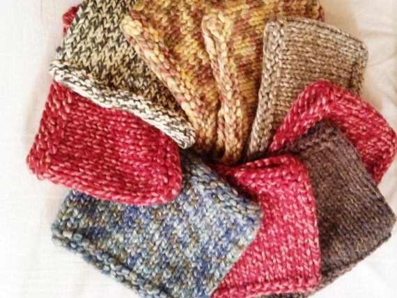 Chunky neck warmer by Stefily on Etsy