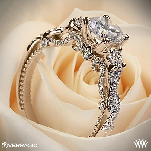 Verragio Braided 3 Stone Engagement Ring | 1997---yes