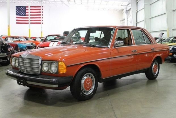 1979 Mercedes Benz 240d Sedan For Sale Hemmings Motor