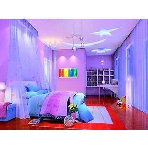 299 best images about bedrooms on pinterest master for Outer space bedroom design