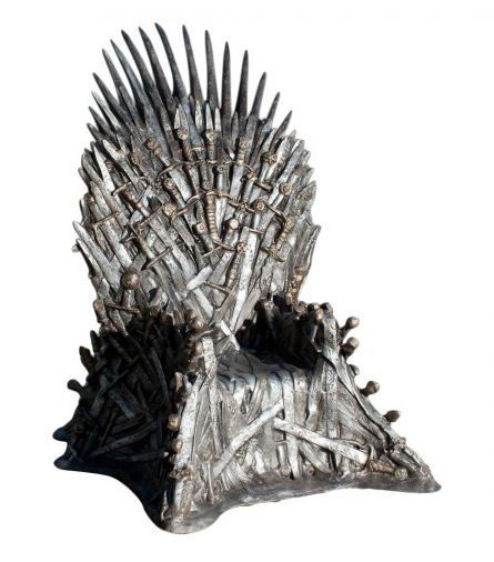 Life Size Game Of Thrones Iron Throne Replica @Will LeBlanc - apparently only thirty grand.